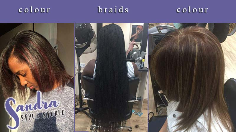 Braids, Locks, Weaves, Lines, Colour, Highlights and more...